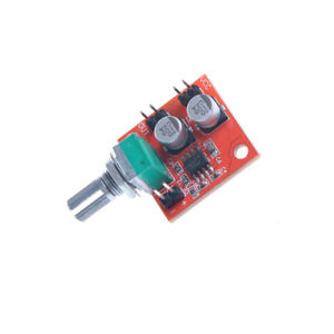 LM386 Electret Microphone Power Amplifier Board Gain 200 Times DC 3.7V-12V HONCW