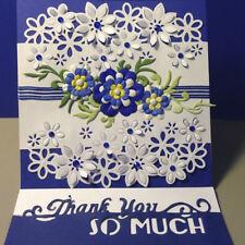 Flowers Cutting Dies Stencil DIY Scrapbooking Embossing Album Card Craft Simple
