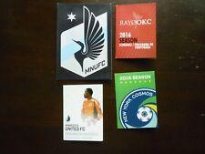 NASL Minor League Indoor Soccer 2016 Pocket Schedules Assorted Lot of 4