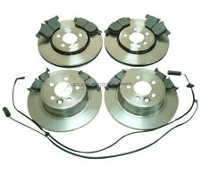 ROVER MG ZT 2000-2005 FRONT & REAR BRAKE DISCS AND PADS SET & WEAR SENSORS NEW