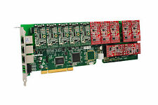 OpenVox A1200P0507 12 Port Analog PCI Base Card + 5 FXS + 7 FXO, Ethernet (RJ45)