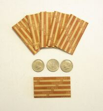 300 PAPER COIN WRAPPERS FOR HALF DOLLAR COINS 50 CENT PIECES HALVES WRAPPER