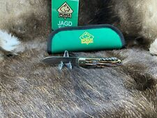 1966 Vintage Puma 959 Jagdmesser Knife With Nice Stag Handles With Puma Pouch