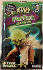 Disney Star Wars Play Pack Yoda Grab & Go Crayons Stickers Coloring Book New