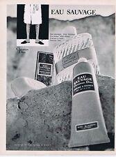 Publicité Advertising 016 1968 Christian Dior eau sauvage par René Gruau