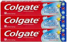 COLGATE Fluoride Toothpaste Cavity Protection Kids Bubble Fruit 2.7 oz (3 Pack)