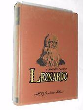 LEONARDO-CLEMENTE FUSERO - DALL'OGLIO EDITORE MILANO - SESTA EDIZIONE - 1963