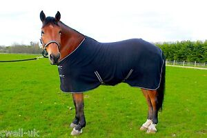 """NEW HORSE COB PONY SHOW TRAVEL FLEECE RUG 3'6-7'0"""" stable cooler choice of color"""