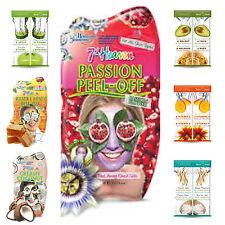 Montagne Jeunesse '7th Heaven' Face Masks & Face Packs - 3x Pack of face masks.
