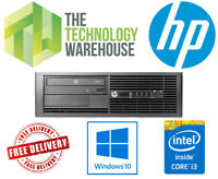HP 4300 Desktop PC - Powerful Computer with up to 16GB Ram + SSD & Windows 10