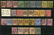 5 George V (1910-1936) British Colony & Territory Stamps