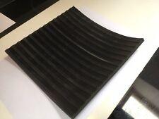 Flat Ribbed Rubber Matting 6mm thick anti slip 200mm x 200mm