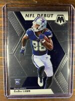 CeeDee Lamb Rookie Football Card #268 Panini Mosaic Dallas Cowboys RC NFL MINT