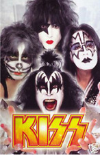 Kiss Band Poster 24 x 36 Rock Music Memorabilia Print Simmons Stanley Frehley