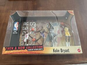 1999 MATTEL KOBE BRYANT THEN AND NOW FOUR FIGURE COLLECTION #8 LAKERS