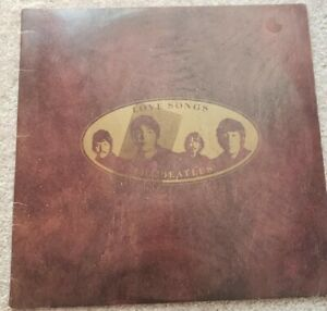 Beatles love songs vinyl Double LP UK