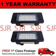 2X FOR BMW X1 E84 X5 E70 X6 E71 24 WHITE LED NUMBER PLATE LIGHT LAMPS