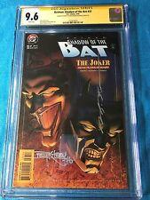 Batman: Shadow of the Bat #37 - DC -CGC SS 9.6 NM+ -Signed by Stelfreeze Kitson