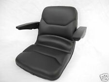HIGH BACK BLACK SEAT FOR WALKER ZERO TURN MOWERS WITH FLIP UP ARM RESTS  ZTR #ZE