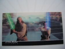 STAR WARS TOPPS WIDEVISION EPIS 1 3DI VERY RARE P1 CHASE CARD IN MINT CONDITION.