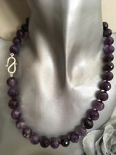 "Beauty 16 - 17.99"" Amethyst Fine Necklaces & Pendants"
