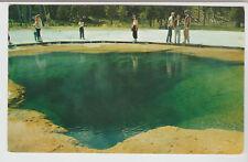Emerald Pool, Upper Geyser Basin, Yellowstone National Park, Vintage Postcard