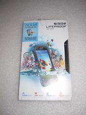 Authentic Lifeproof Nuud Samsung Galaxy S4 Case Water Dirt Shock Proof Black