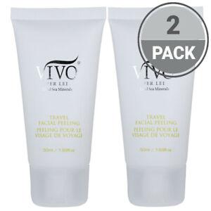 Vivo Per Lei Travel Size Dead Sea Mineral Facial Peeling Gel Skin 50ML Pack of 2