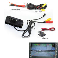 3 In 1 Car Reversing Parking Sensor Backup Rear Smart View Camera Radar L7Y2