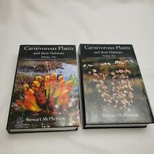 Carnivorous Plants and their Habitats Vol. 1 and 2 Stewart McPherson Signed RARE