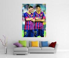 Lionel Messi Y Neymar Barcelona Barca Gigante Pared Arte Foto impresión Cartel