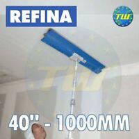 "REFINA 40"" 100cm Finishing Spatula with Plastering Skimming Spat Pole 1-2M"