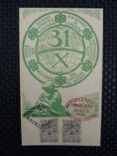 ARGENTINA MK 1944 WELTSPARTAG MAXIMUMKARTE CARTE MAXIMUM CARD MC CM a7491