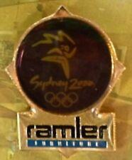 Ramler Olympic Sponsor/Supplier Pin Badge~Hologram~Limited Edition~Sydney~2000