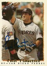 Phil Plantier Padres Signed 1995 Topps Card