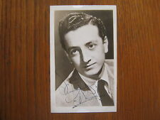 VIC  DAMONE   The Lively Ones/You Do  Signed  3 1/2 X 5 1/2  Vintage B & W Photo