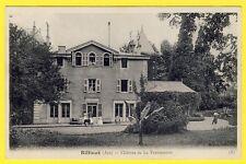 cpa 01 et 69 - RILLIEUX La PAPE (Ain et Rhône) CHÂTEAU de la TESSONNIERE Animée