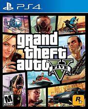 NEW Grand Theft Auto V GTA 5 (Sony PlayStation 4, 2014)