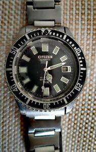 Citizen PAF Vintage Diver 52-0110 Automatic Great Condition