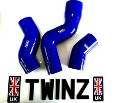 LAND ROVER DISCOVERY 2 TD5 SILICONE TURBO INTERCOOLER INLET BOOST HOSE KIT BLUE