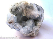 Celestite Crystal Cluster 12oz Geode A2803 Healing Crystal Angels Calming Peace