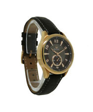 Bulova 97L113 Women's Round Analog Brown Mother of Pearl Leather Watch