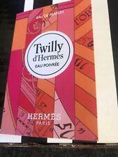 Twilly d'Hermes EAU POIVREE Eau De Parfum EDP Spray Paris .06oz/2ml Sample NEW