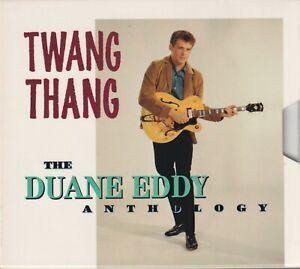TWANG THANG The DUANE EDDY Anthology (2CD Rhino 1993) Slipcase Like New!!!