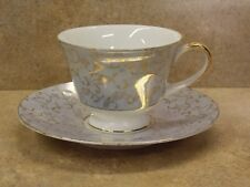 """NORLEANS"" FINE BONE CHINA! TEA CUP & SAUCER! GREAT SHAPE!"