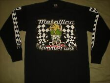 VINTAGE 1997 METALLICA GIMME FUEL LONG SLEEVE CONCERT TOUR T SHIRT DADDY ROTH