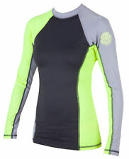 divepro Rash Guard UV/  / Camiseta manga corta azul de licra Color Blanco