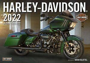 2022 HARLEY-DAVIDSON MOTORCYCLE JUMBO WALL CALENDAR