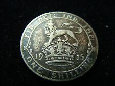 Silver King George V Shilling 1915
