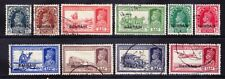 More details for bahrain 1938/41 gvi sg20/31 stamps of india opt set to 12as good to f/u cat £235